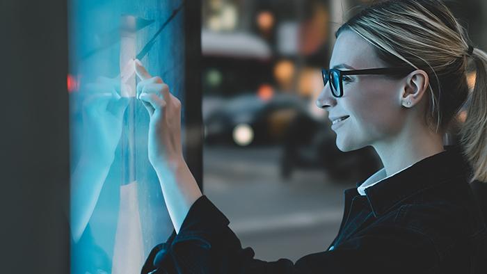 Medientechnik Public Touchscreen Displays